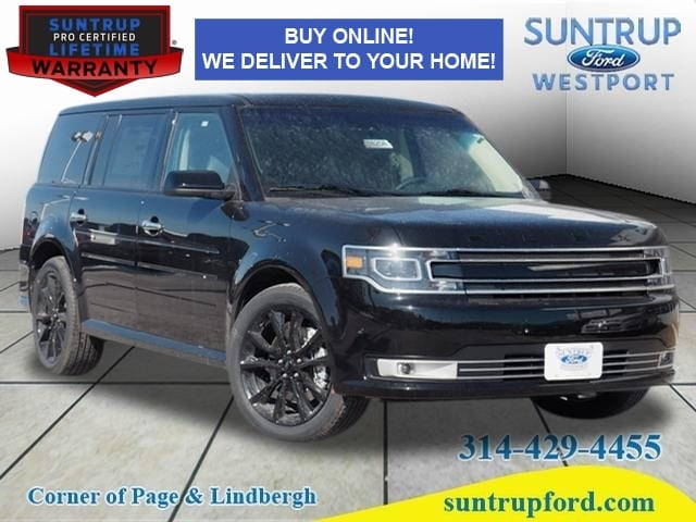 Featured New 2018 Ford Flex Limited Limited  Crossover for sale in St. Louis, MO