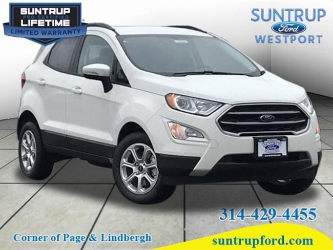 New Ford for sale 2018 Ford EcoSport SE AWD SE  Crossover in St. Louis, MO