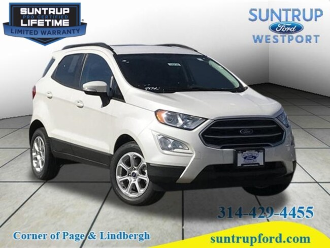 New Ford for sale 2018 Ford EcoSport SE SE  Crossover in St. Louis, MO