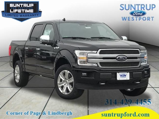 New Ford for sale 2018 Ford F-150 Platinum 4x4 Platinum  SuperCrew 5.5 ft. SB in St. Louis, MO