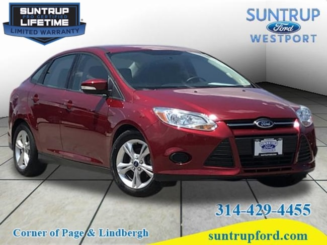 2014 Ford Focus SE SE  Sedan for sale near St. Louis MO at Suntrup Ford