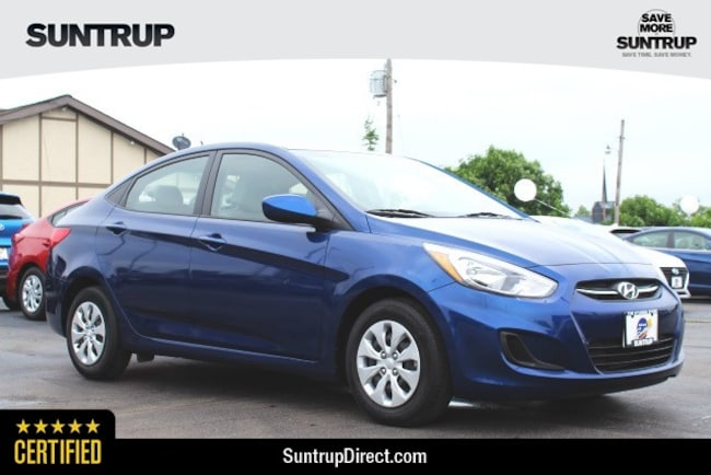 Certified Used 2016 Hyundai Accent SE Sedan in St. Louis, MO