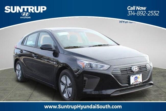 New 2019 Hyundai Ioniq Hybrid Hybrid Blue Hatchback in St. Louis, MO