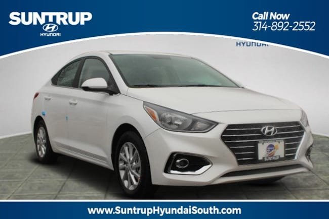 New 2019 Hyundai Accent SEL Sedan in St. Louis, MO
