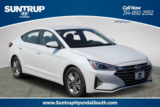 New 2019 Hyundai Elantra SEL Sedan in St. Louis, MO