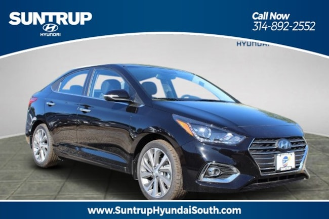 New 2019 Hyundai Accent Limited Sedan Auto Sedan in St. Louis, MO