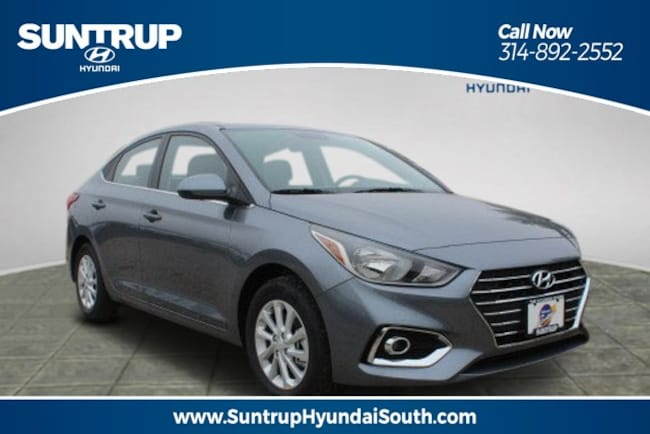 New 2019 Hyundai Accent SEL Sedan in Wentzville