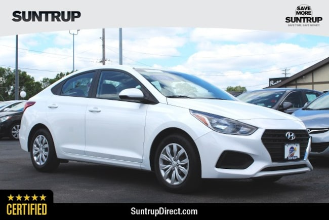 Certified Used 2018 Hyundai Accent SE Sedan in St. Louis, MO
