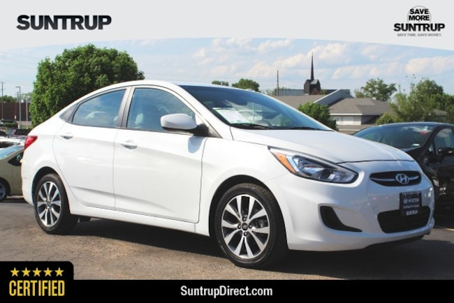 Certified Used 2017 Hyundai Accent Value Edition Sedan in St. Louis, MO