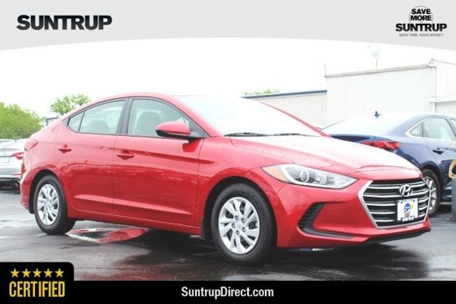 Certified Used 2018 Hyundai Elantra SE Sedan in St. Louis, MO