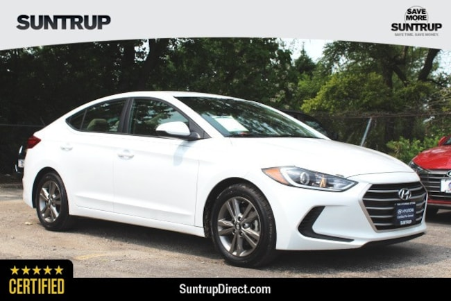 Certified Used 2017 Hyundai Elantra SE Sedan in St. Louis, MO