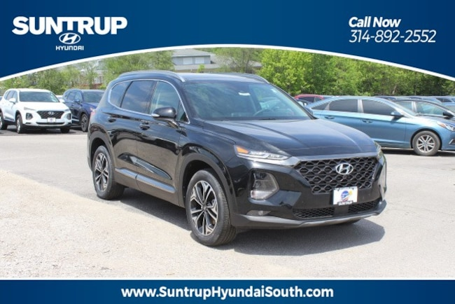 New 2019 Hyundai Santa Fe Ultimate 2.0T FWD SUV in St. Louis, MO