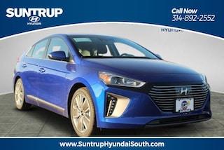New 2019 Hyundai Ioniq Hybrid Hybrid Limited Hatchback in St. Louis, MO