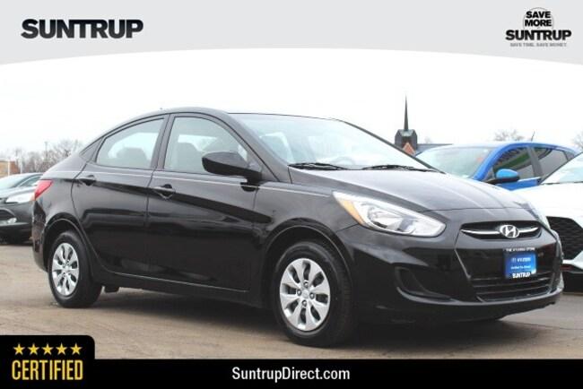 Certified Used 2016 Hyundai Accent SE Sedan in St. Louis, MO