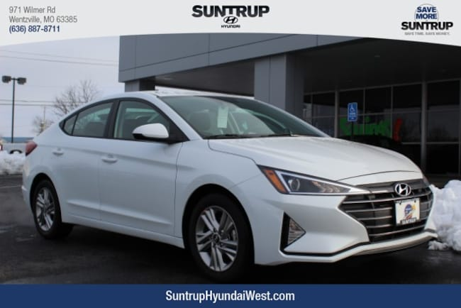 New 2019 Hyundai Elantra SEL Sedan in Wentzville