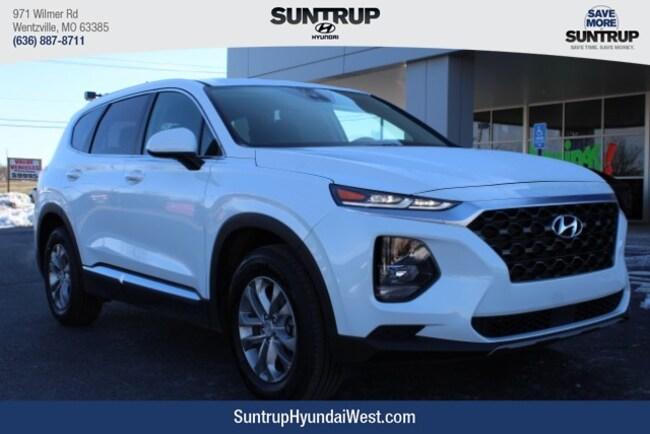 New 2019 Hyundai Santa Fe SE 2.4 SUV in Wentzville