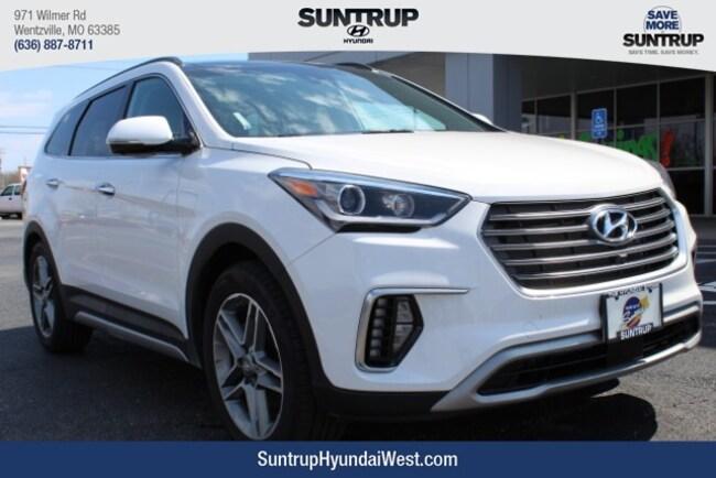 New 2019 Hyundai Santa Fe XL Limited Ultimate SUV in Wentzville