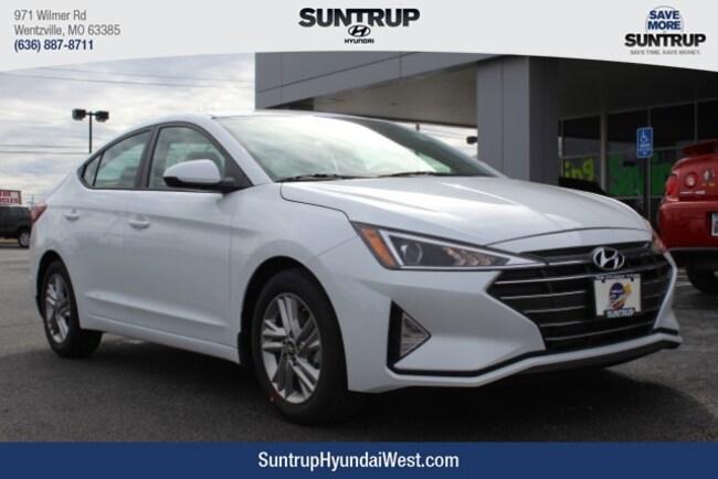 New 2019 Hyundai Elantra SEL Sedan in Wentzville