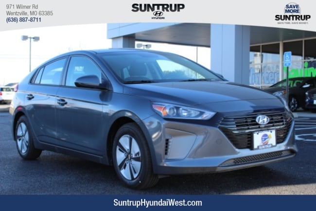 New 2019 Hyundai Ioniq Hybrid Blue Hatchback in St. Louis, MO
