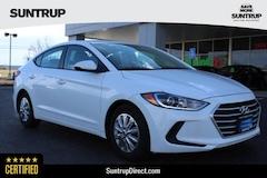 CPO 2017 Hyundai Elantra SE Sedan in Wentzville, MO