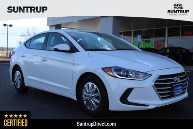 Certified Used 2017 Hyundai Elantra SE Sedan in Wentzville