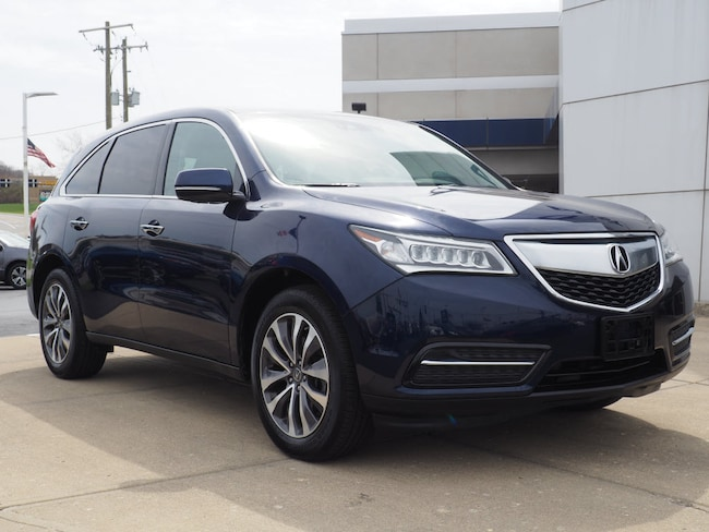 2016 Acura MDX 3.5L SH-AWD w/Technology Pkg SH-AWD  SUV w/Technology Package