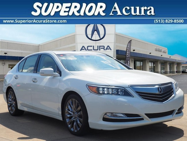2016 Acura RLX Base Technology Package Sedan w/Technology Package