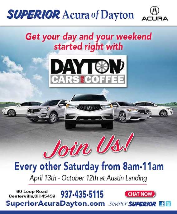 Acura Of Dayton >> Superior Acura Of Dayton New Acura Dealership In Centerville Oh 45459
