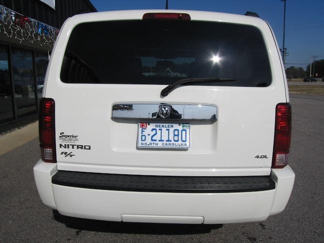 Used 2007 Dodge Nitro Sltrt For Sale Henderson Nc