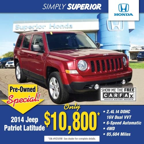 Patriot Tires Jeep Suv Car Truck Minivan >> Superior Honda Cincinnati Ohio New Used Cars Trucks Suv Vans