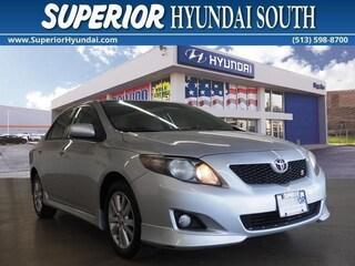 Used 2009 Toyota Corolla S Sedan for Sale in Cincinnati OH at Superior Hyundai South