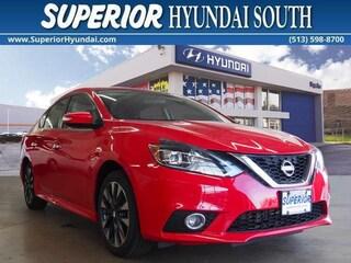 Used 2017 Nissan Sentra SR Sedan for Sale in Cincinnati OH at Superior Hyundai South