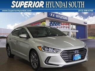 Certified Pre-Owned 2017 Hyundai Elantra Limited Sedan R16477PC for Sale in Cincinnati OH at Superior Hyundai South