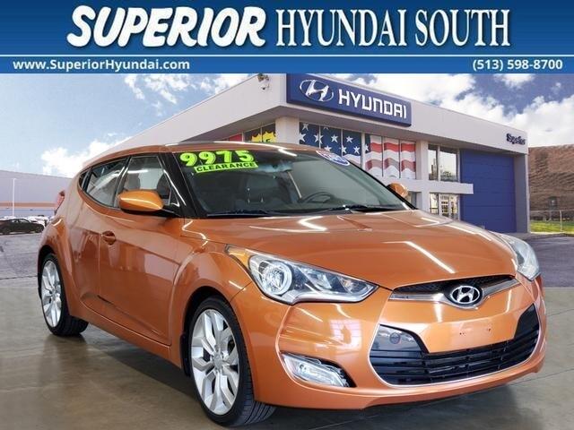 2012 Hyundai Veloster Base Hatchback