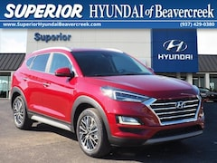 New 2021 Hyundai Tucson Limited SUV B21389378 for Sale near Miamisburg, OH, at Superior Hyundai of Beavercreek