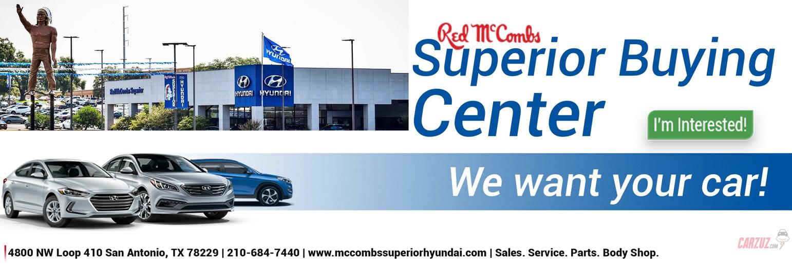 McCombs Superior Hyundai   Hyundai Dealership in San ...