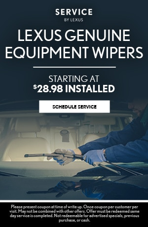 Genuine Equipment Wipers