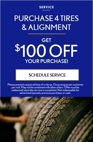 Purchase 4 Tires & Alignment