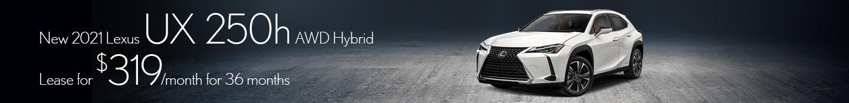 New 2021 Lexus UX 200h