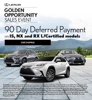 90 Day Deferred Payment on L/Certified Models