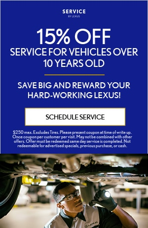 Service For Vehicles Over 10 Years Old