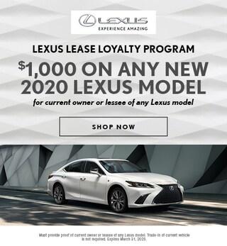 Lexus Lease Loyalty Program