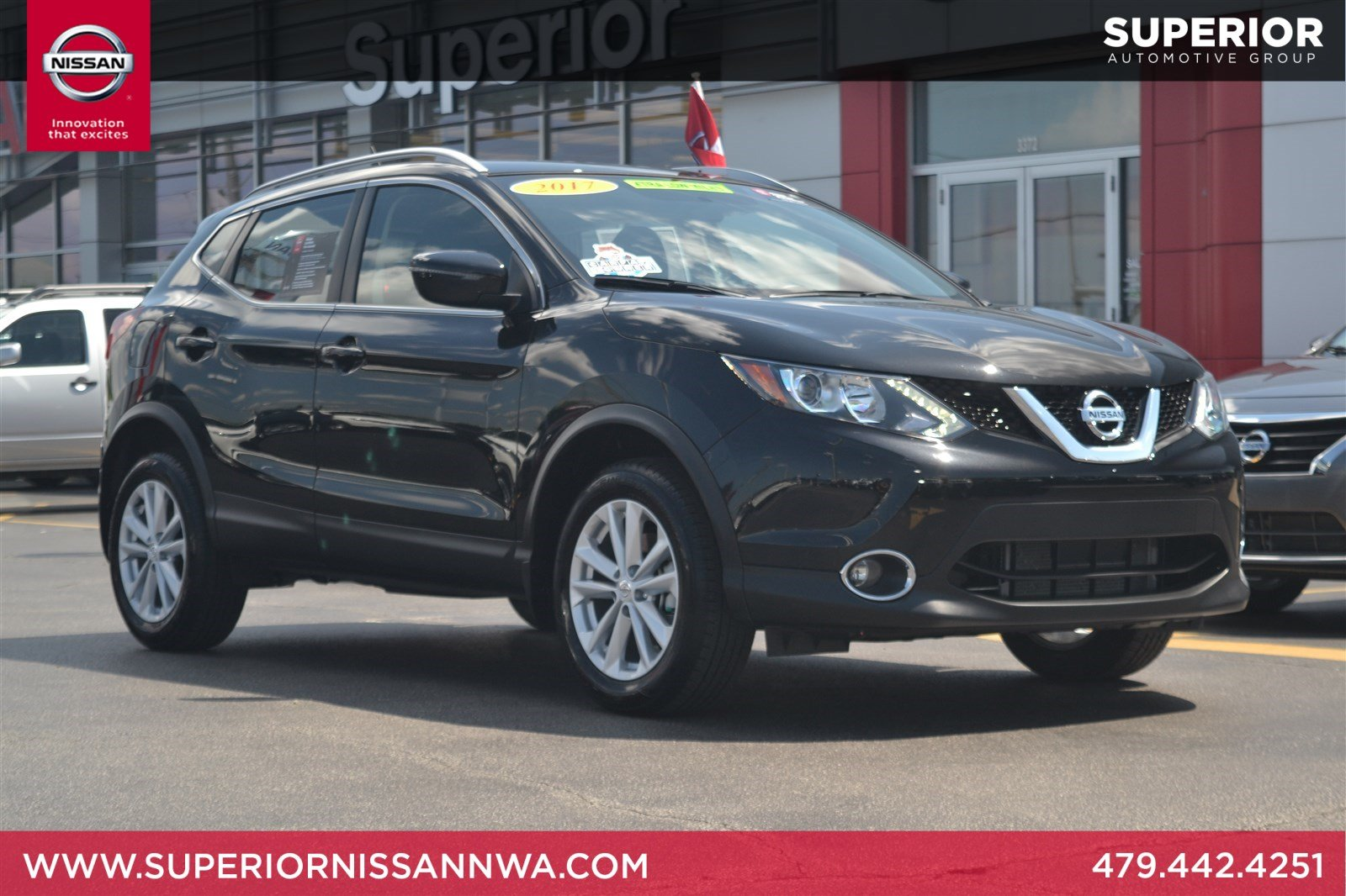 Certified Pre Owned 2017 Nissan Rogue Sport SV SUV YS1160 Near Fayetteville,  AR
