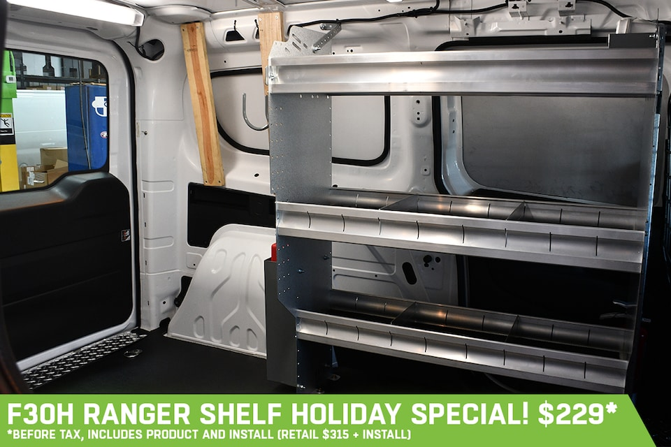 F30H Ranger Shelf - Holiday Special