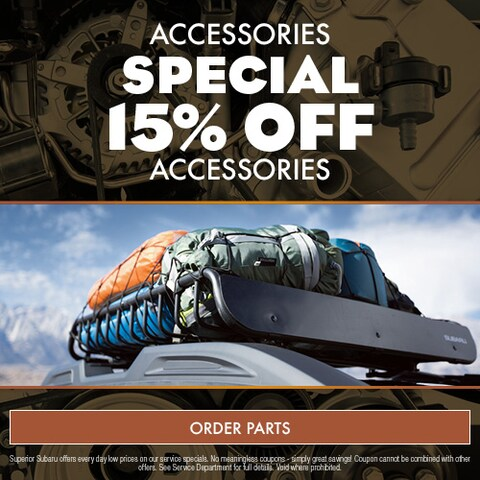 Accessories Special 15% Off