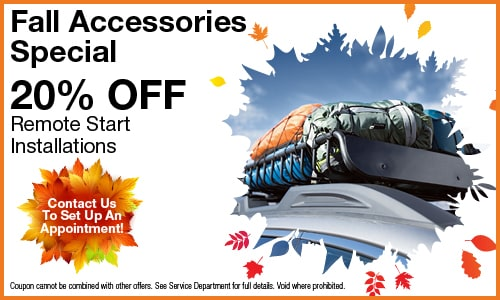 20% OFF Fall Accessories