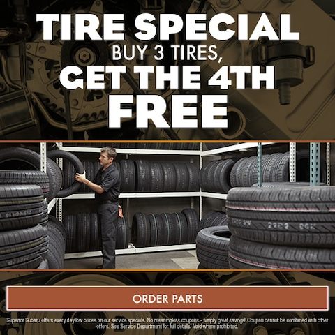 Tire Special Buy 3 Tires, Get 4th Free