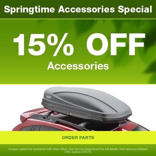 15% OFF Accessories