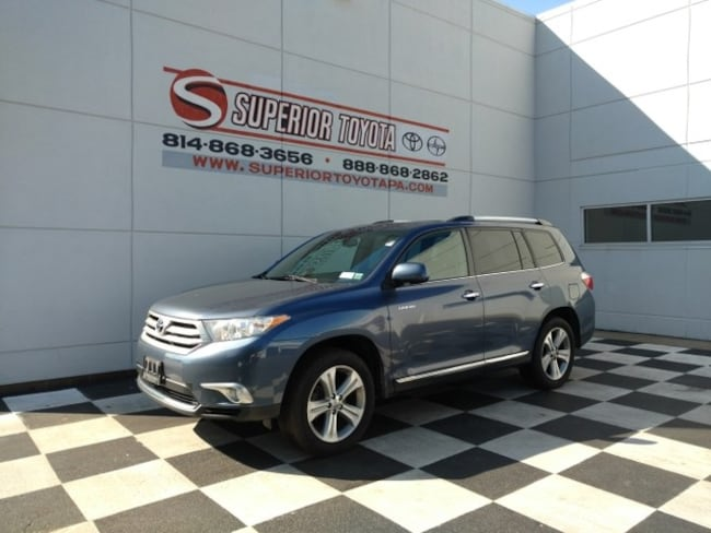 Used 2012 Toyota Highlander Limited SUV in Erie, PA