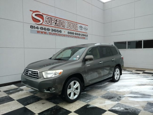 Used 2008 Toyota Highlander Limited SUV in Erie, PA